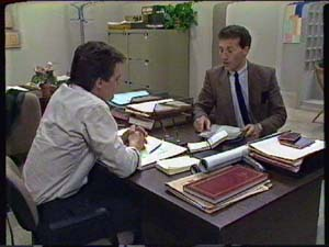 Paul Robinson, Peter Smith in Neighbours Episode 0341