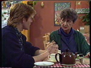 Clive Gibbons, Nell Mangel in Neighbours Episode 0341