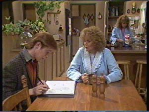 Clive Gibbons, Madge Mitchell, Charlene Mitchell in Neighbours Episode 0342