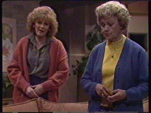Madge Mitchell, Edna Ramsay in Neighbours Episode 0342