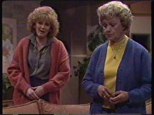 Madge Bishop, Edna Ramsay in Neighbours Episode 0342