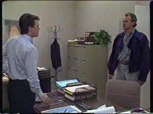 Paul Robinson, Jim Robinson in Neighbours Episode 0342