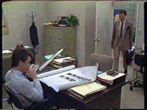 Paul Robinson, Peter Smith in Neighbours Episode 0342