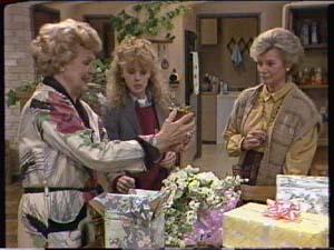 Charlene Mitchell, Helen Daniels, Madge Bishop in Neighbours Episode 0343