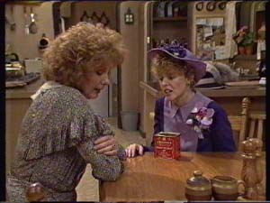 Madge Bishop, Charlene Mitchell in Neighbours Episode 0344