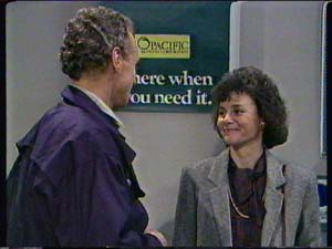 Jim Robinson, Ruth Wilson in Neighbours Episode 0344