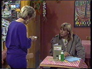 Daphne Clarke, Warrick Capper in Neighbours Episode 0344