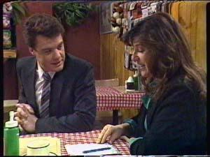 Paul Robinson, Susan Cole in Neighbours Episode 0345