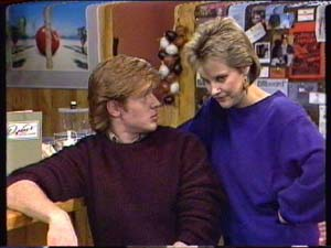 Clive Gibbons, Daphne Clarke in Neighbours Episode 0346