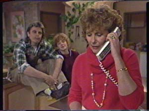 Shane Ramsay, Charlene Mitchell, Madge Bishop in Neighbours Episode 0347