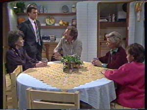 Jim Robinson, Helen Daniels, Lucy Robinson, Paul Robinson, Ruth Wilson in Neighbours Episode 0347