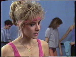 Jenny the cheerleader teacher in Neighbours Episode 0348