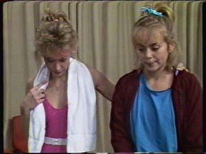 Jenny the cheerleader teacher, Jane Harris in Neighbours Episode 0348