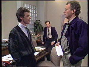 Jim Robinson, Paul Robinson in Neighbours Episode 0349