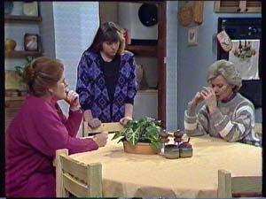 Laura Dennison, Nikki Dennison, Helen Daniels in Neighbours Episode 0355
