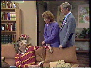 Shane Ramsay, Madge Mitchell, Ray Murphy in Neighbours Episode 0355