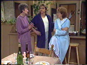 Nell Mangel, Shane Ramsay, Madge Mitchell in Neighbours Episode 0355