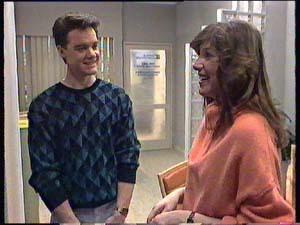 Paul Robinson, Susan Cole in Neighbours Episode 0355