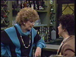 Madge Mitchell, Hilda Mueller in Neighbours Episode 0355