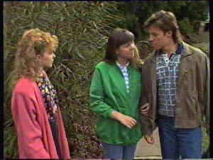Charlene Mitchell, Nikki Dennison, Mike Young in Neighbours Episode 0356