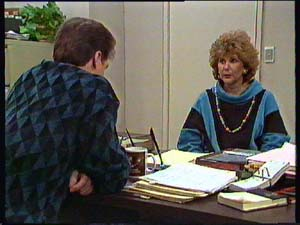 Paul Robinson, Madge Bishop in Neighbours Episode 0356