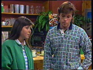 Nikki Dennison, Mike Young in Neighbours Episode 0356