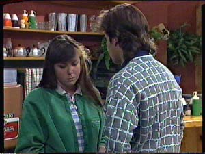 Nikki Dennison, Mike Young in Neighbours Episode 0357