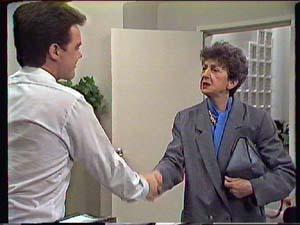 Paul Robinson, Nell Mangel in Neighbours Episode 0357