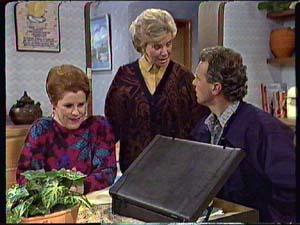Laura Dennison, Helen Daniels, Jim Robinson in Neighbours Episode 0358