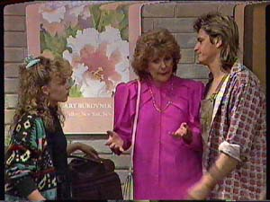Charlene Mitchell, Shane Ramsay, Madge Bishop in Neighbours Episode 0358