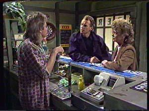 Shane Ramsay, Jim Robinson, Grace Barnet in Neighbours Episode 0359