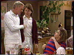 Shane Ramsay, Ray Murphy, Warren Murphy in Neighbours Episode 0361