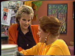 Daphne Clarke, Laura Dennison in Neighbours Episode 0362