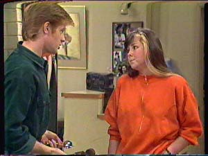 Clive Gibbons, Nikki Dennison in Neighbours Episode 0363
