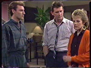 Phil Nolan, Des Clarke, Daphne Clarke in Neighbours Episode 0363