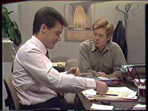 Paul Robinson, Clive Gibbons in Neighbours Episode 0364