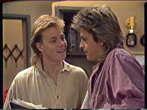 Scott Robinson, Shane Ramsay in Neighbours Episode 0365