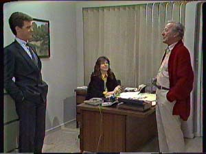 Ted Gibbons, Susan Cole, Paul Robinson in Neighbours Episode 0365