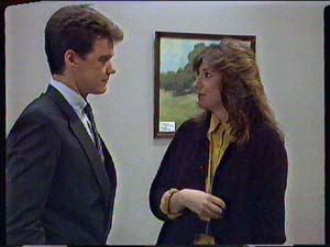 Paul Robinson, Susan Cole in Neighbours Episode 0366