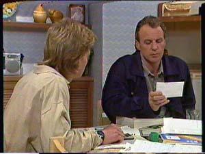 Scott Robinson, Jim Robinson in Neighbours Episode 0366