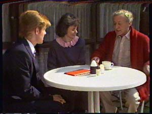 Clive Gibbons, Ruth Wilson, Ted Gibbons in Neighbours Episode 0366