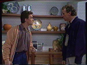 Paul Robinson, Jim Robinson in Neighbours Episode 0367