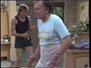Dan Ramsay, Shane Ramsay in Neighbours Episode 0399