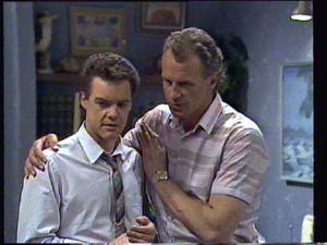 Jim Robinson, Paul Robinson in Neighbours Episode 0403
