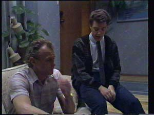 Paul Robinson, Jim Robinson in Neighbours Episode 0403