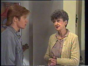 Clive Gibbons, Nell Mangel in Neighbours Episode 0403