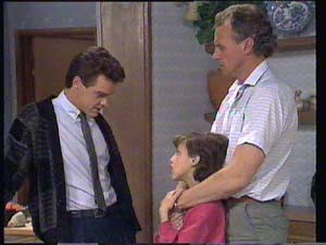 Paul Robinson, Lucy Robinson, Jim Robinson in Neighbours Episode 0403