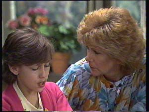 Lucy Robinson, Madge Bishop in Neighbours Episode 0404