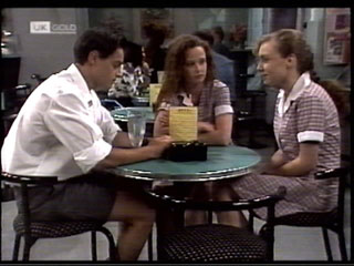 Rick Alessi, Cody Willis, Debbie Martin in Neighbours Episode 2099