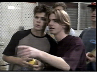Michael Martin, Brett Stark in Neighbours Episode 2099